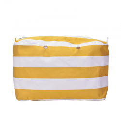 Bolsa O BAG BEACH Mini Rayas Amarillas