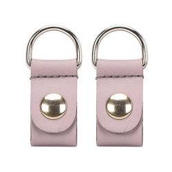 Clips O BAG Ecopiel Oro Rosa Smoke