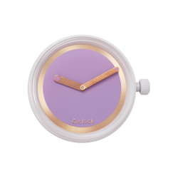 Reloj O BAG O CLOCK Metal Ring Orchidea