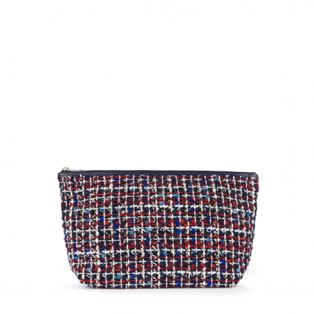 Bolsa TOUS KAOS SHOCK M. Tweed Multi-marino