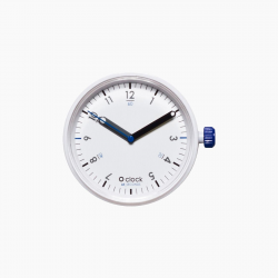 Reloj O BAG O CLOCK Seconds Azul Blanco