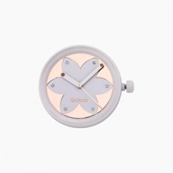 Reloj O BAG O CLOCK Metal Flower